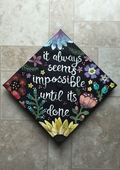 Graduation cap design