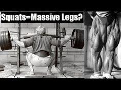 DO SQUATS = MASSIVE LEGS? (Ft. Bret Contreras) - YouTube