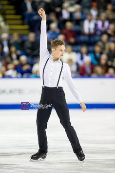 Adam Rippon (USA) - 2014 Skate Canada SP © Danielle Earl
