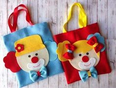 Clown Party, Circus Theme Party, Carnival Birthday, 3rd Birthday, Party Themes, Birthday Parties, Felt Crafts, Diy And Crafts, Crafts For Kids