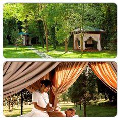 Kuş sesleri eşliğinde, açık havada masaj keyfi #Aliva #Spa'da… http://bit.ly/1NyoIPn