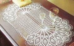 Oval Table Center  WONDER  Crochet Patterns