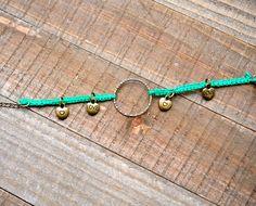 Macrame Charm Bracel