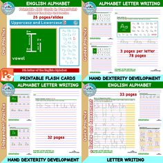 English Alphabet Letters, Abc Cards, Guided Practice, Arithmetic, Letter Writing, Letters And Numbers, Phonics, Assessment, Knowledge