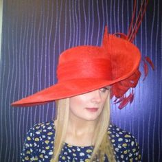 Matthew Eluwande Millinery. Find this great piece and more at http://www.fashionattheraces.com