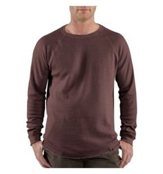 Carhartt - Product - Men's Lightweight Thermal Knit Crewneck