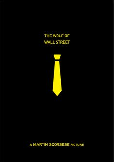 The wolf of wall street. Poster Minimalista 1 . By: Germán Fuster García
