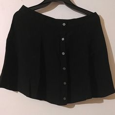 Mini skirt with buttons in the front Worn once but does not fit any more. Its nice for the upcoming summer days. Still in a new condition. Forever 21 Skirts Mini