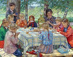 Teacher's Birthday - Nikolay Bogdanov-Belsky
