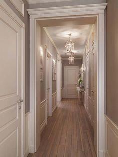 40 Astonishing Home Corridor Design For Your Home Inspiration 21 - grhaku Home Room Design, Home Design Plans, Home Interior Design, Corridor Design, Hallway Designs, Hallway Decorating, Elegant Homes, Unique Home Decor, Apartment Design