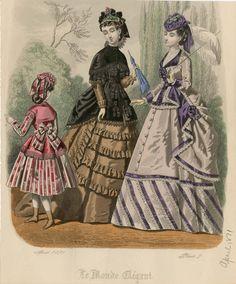 Le Monde Elégant 1871