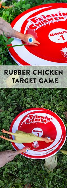 Flinging a rubber chicken, competitively, turns out to be as silly as you would think. It's entertaining and engaging for all ages. Great family game.