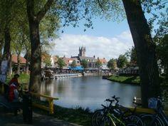 stadsgezicht Sluis via www.fanvanzeeland.nl Holland, Netherlands, Van, Places, The Nederlands, The Nederlands, Vans, The Netherlands, Lugares