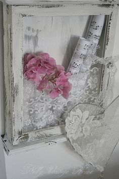 Shabby wall idea