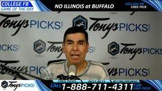 Northern Illinois vs. Buffalo Free NCAA Football Picks and Predictions 1...