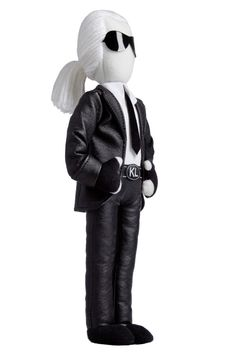 i want this karl lagerfeld doll so bad. sephora.