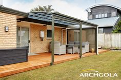 An Archgola Awning is like adding a new room to your home – for a fraction of the price. Custom made to your taste and budget, choose from our extensive range of awnings and customise your frame colours, roof shapes, and roofing tints to achieve the shade and shelter you're looking for. Call us now on 0508 272 446 for a FREE measure & quote. Outdoor Awnings, Roof Shapes, Outdoor Shelters, Outdoor Shade, Outdoor Areas, New Room, Budget, Range, Quote