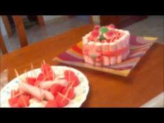 Cómo ahorrar haciendo una tarta de chucherías por 3 euros - YouTube