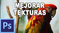 Cómo añadir textura a fotografia - Tutorial Photoshop en Español por @pr...