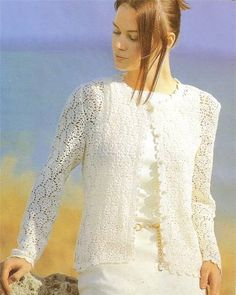 crochet spring and summer cardigan | make handmade, crochet, craft