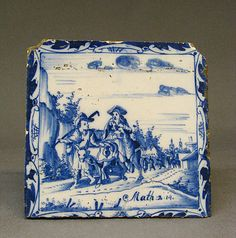 Tile Date: 18th century Culture: Dutch Medium: Tin-enameled earthenware Dimensions: 5 x 5 in. (12.7 x 12.7 cm)
