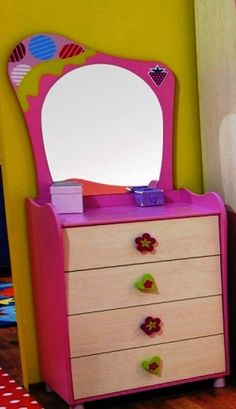 I love love this dresser! little girl bedrooms
