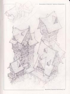 ArtStation - Medieval Fantasy Buildings III, Raúl Arbeloa-Santos