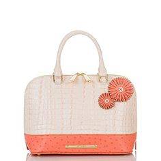 Vivian Dome Satchel<br>Quartz Sweetheart