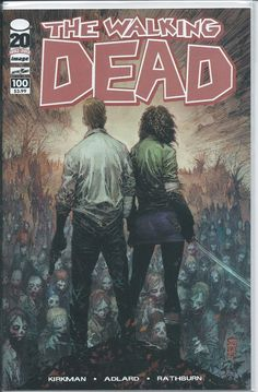 Image: The Walking Dead #100 (Marc Silvestri Cover) VF/NM 1st appearance Nagan