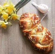 Húsvéti fonott kalács Zelleitündi módra Bread, Cheese, November, Breads, Baking, Buns
