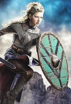 A shieldmaiden was a woman who had chosen to fight as a warrior in Scandinavian folklore and mythology.