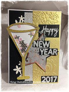 Szczęśliwego Nowego Roku New Year 2017, Cards, Handmade, Decor, Hand Made, Decoration, Maps, Decorating, Playing Cards