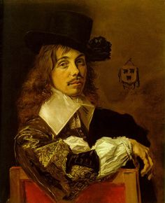 Frans Hals - Self Portrait, 1645