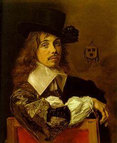 Willem Coymans (c1645) by Frans Hals