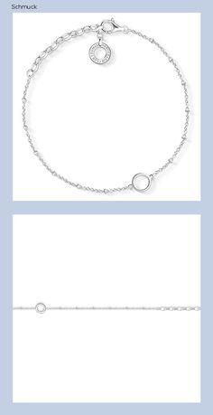 Thomas Sabo Damen-Charm-Armband 925 Sterlingsilber X0231-001-12-L19v - 14g6
