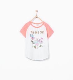 Imagem 2 de T-shirt lantejoulas da Zara