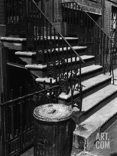 Stairway, New York, 1944 Photographic Print by Brett Weston