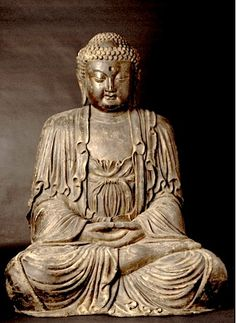 Wooden Sculpture of the Vairocana Buddha - X.0708 Origin: China Circa: 15 th Century AD to 17 th Century AD