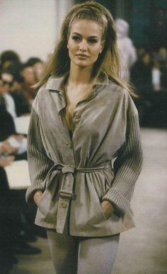 Karen Mulder for Prada F/W 1991