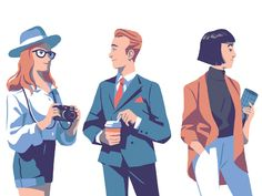 Monocle by Folio Illustration Agency