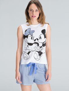 Womensecret. Short Mickey and Minnie short pyjama