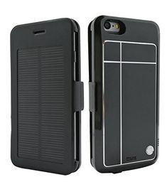 """iPhone 6 Solar Power MFI Apple Certified Battery Case 4.7"""" 3500 mAH- by Phone Charger Case ® (Authorized Seller - Portable Solar Shop)"""