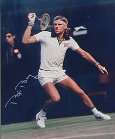 Bjorn Borg--Classy champion got me interested in tennis