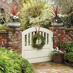 Hang a simple wreath