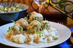 Koskacukor: Svéd húsgombóc Potato Salad, Potatoes, Keto, Chicken, Ethnic Recipes, Food, Potato, Essen, Meals