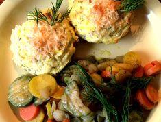 Potato Salad, Eggs, Potatoes, Chicken, Breakfast, Ethnic Recipes, Food, Morning Coffee, Potato