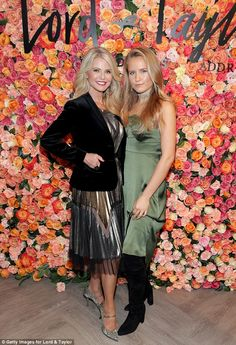 Mummy and me: On Thursday, Christie Brinkley took her daughter Sailor Brinkley to the Grand Re-Opening of Lord & Taylor in Garden City, New York