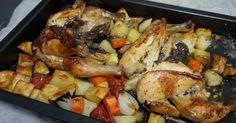 Además, acompañado de una guarnición de patatas y verduras. Vete poniendo la mesa para disfrutarlo. Una receta del blog COCINANDO CON MONTSE.