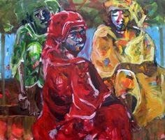 120 x 140 cm. Acrylics on canvas cm. Acrylics on canvas. African Life, African Women, African Market, Brush Strokes, Acrylics, Contemporary Art, Portrait, Canvas, Painting