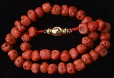 Your place to buy and sell all things handmade Red Coral, Metal Jewelry, Precious Metals, Solid Gold, Vintage Items, Chokers, Bronze, Pendants, Antiques